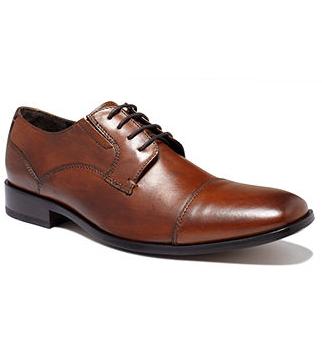Joseph Abboud Foxfield Black Double Monk Strap Shoes