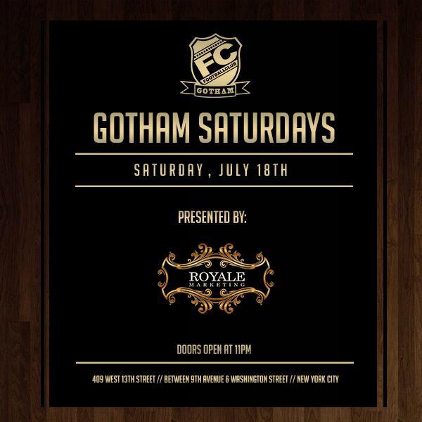 Saturdays at Gotham