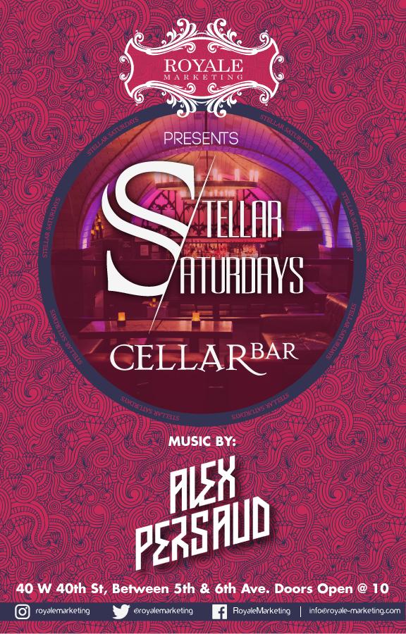 Stellar Saturdays at Cellar Bar