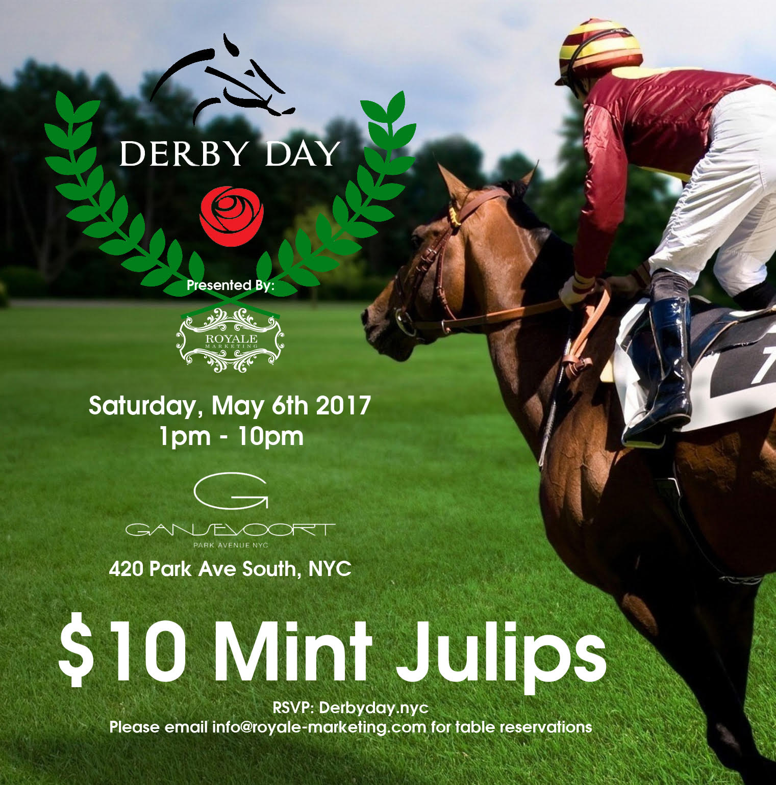 Its Derby Day at The Gansevoort Hotel