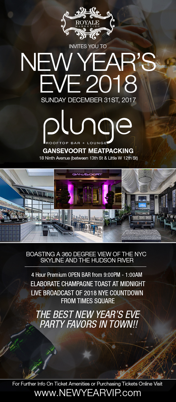 New Years Eve at the Gansevoort Meatpacking NYC !!!
