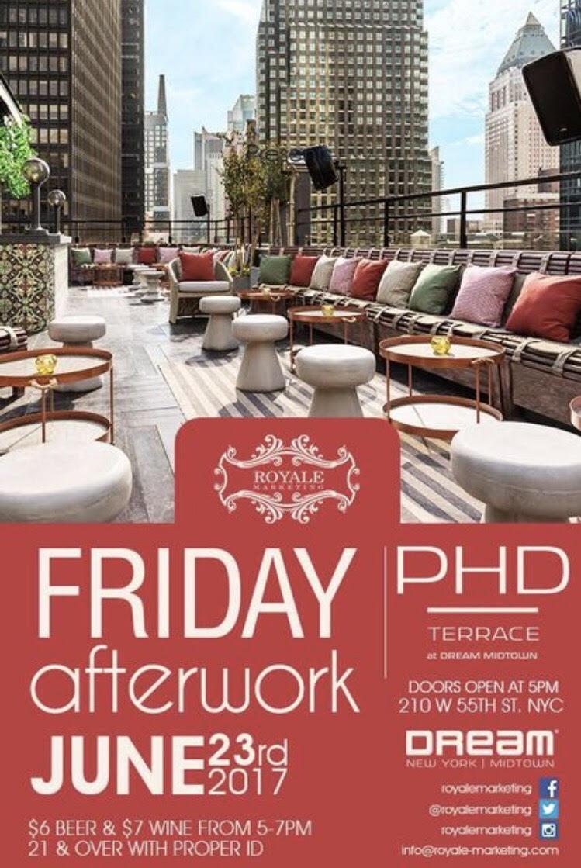 Friday Afterwork