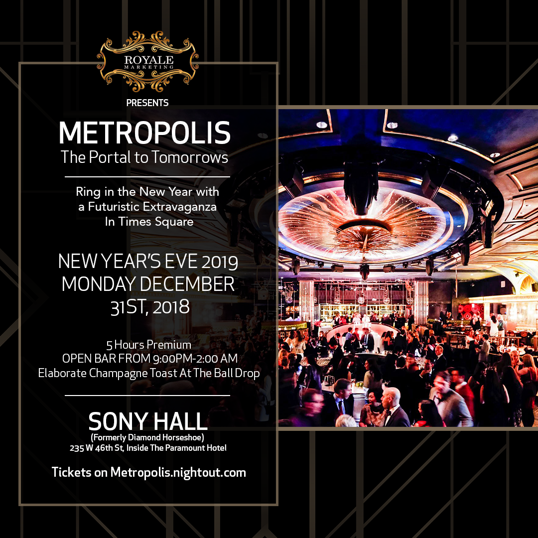 Metropolis: A Portal to Tomorrows | New Year's Eve 2019