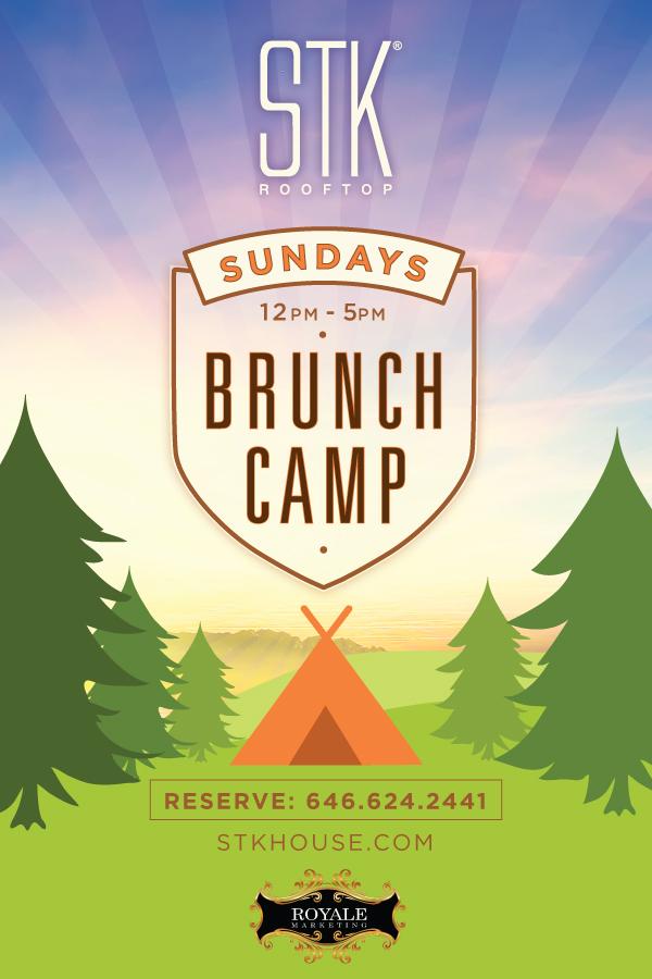 Brunch Camp  ~ Brunch at STK !!!