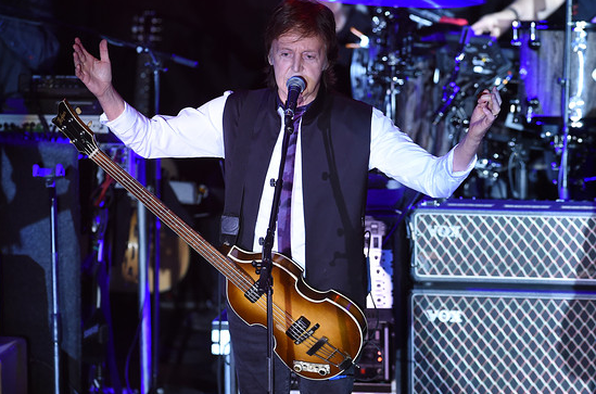 Paul McCartney Plays Surprise Valentine Show At Irving Plaza