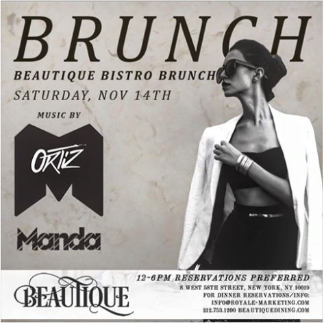 Brunch At Beautique !!!
