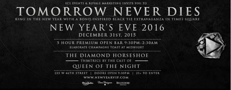 NYE At The Diamond Horseshoe ~
