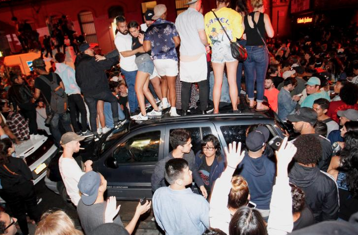 Kanye West Causes Havoc At Webster Hall