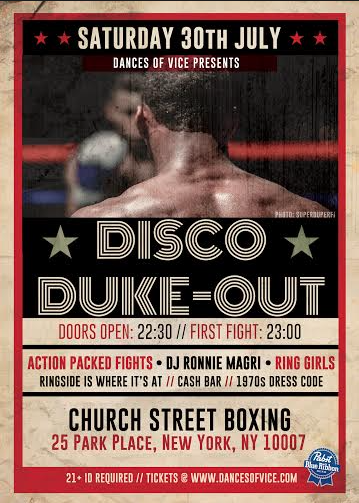 Disco Fight Club