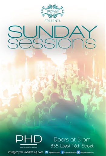 Sunday Sessions At PHD Downtown