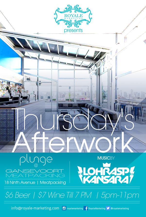 Thursday Afterwork at The Gansevoort MPD