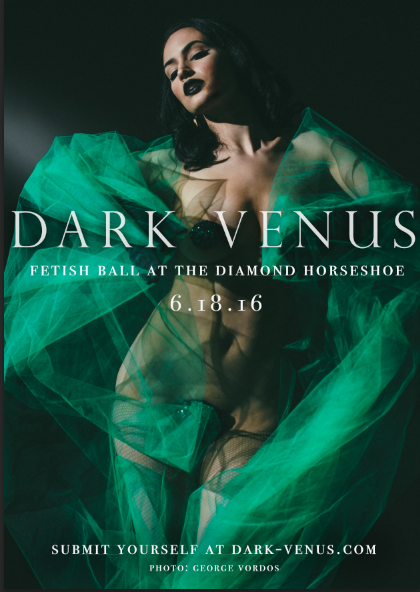 Dark Venus Flyer