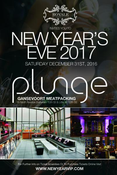 New Years Eve at Gansevoort Meatpacking