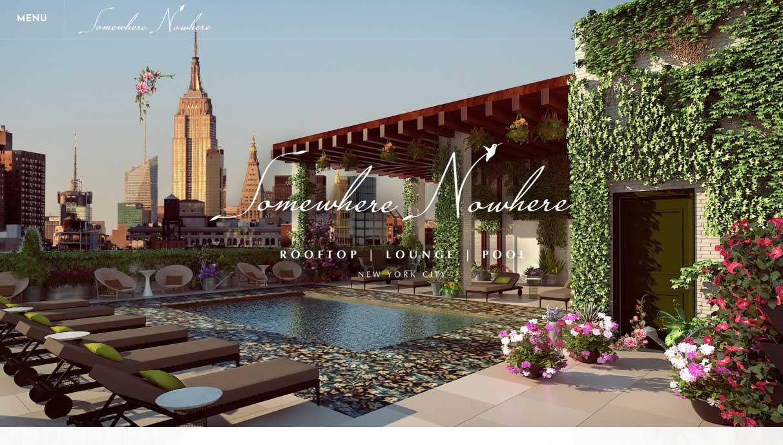 Somewhere Nowhere NYC Website